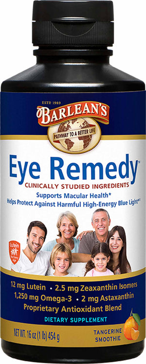 Barlean's Organic Oils Eye Remedy™ Swirl Tangerine Smoothie