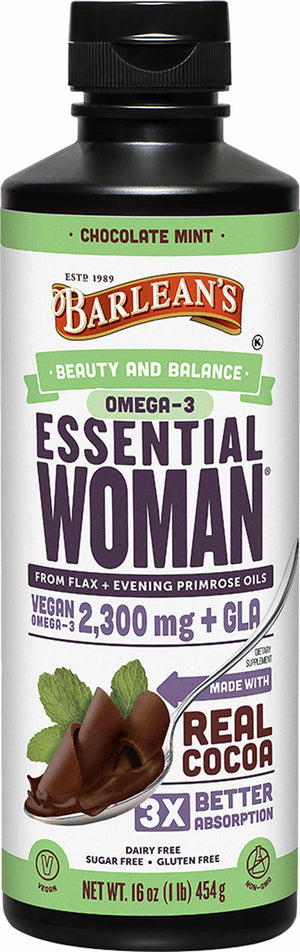 Barlean's Organic Oils Seriously Delicious™ Essential Woman® Chocolate Mint