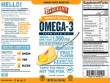 Barlean's Organic Oils Seriously Delicious™ Omega-3 Fish Oil Mango Peach Smoothie