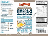 Barlean's Organic Oils Seriously Delicious™ Omega-3 Fish Oil Piña Colada