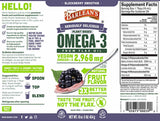 Barlean's Organic Oils Seriously Delicious™ Omega-3 Flax Blackberry Smoothie
