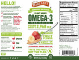 Barlean's Organic Oils Seriously Delicious™ Omega-3 Flax Strawberry Banana Smoothie