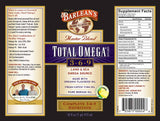 Barlean's Organic Oils Total Omega® 3-6-9 Lemonade