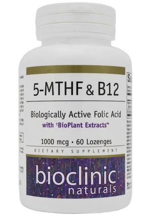 Bioclinic Naturals 5-MTHF and B12