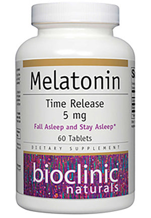 Bioclinic Naturals Melatonin Time Release 5mg