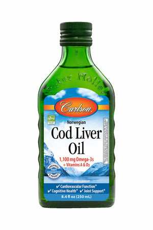 Carlson Labs Cod Liver Oil, Natural