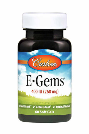 Carlson Labs E-Gems® 400 IU (268 mg)