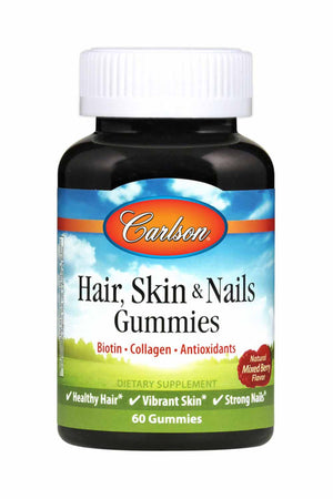 Carlson Labs Hair, Skin & Nails Gummies