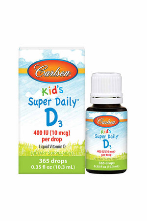 Carlson Labs Kid's Super Daily D3 400 IU