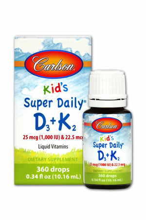 Carlson Labs Kid's Super Daily® D3 + K2