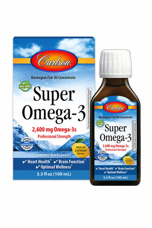 Carlson Labs Norweigan Super Omega-3 2600 mg