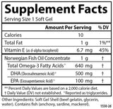 Carlson Labs Super DHA Gems® 500 mg