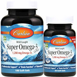 Carlson Labs Super Omega-3 Gems 1200 mg