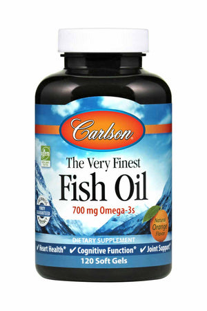 Carlson Labs The Very Finest Fish Oil 700 mg Orange
