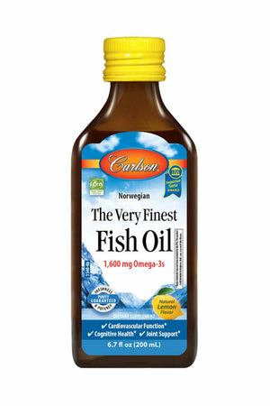 Carlson Labs The Very Finest Fish Oil™, Lemon