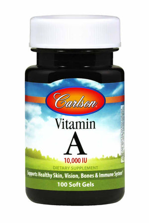 Carlson Labs Vitamin A Natural 10000 IU