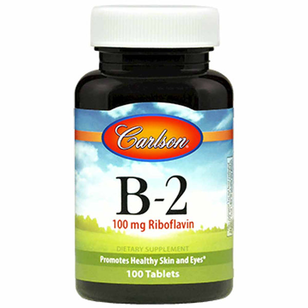 Carlson Labs Vitamin B-2 100 mg