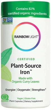 Rainbow Light Certified Plant Source Iron