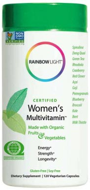 Rainbow Light Certified Women's Multivitamin