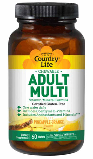 Country Life Chewable Adult Multi