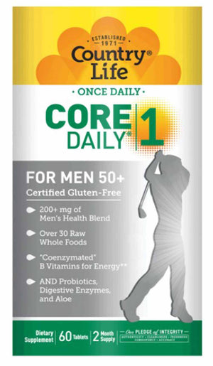 Country Life Core Daily 1 Multivitamin For Men 50+