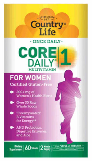 Country Life Core Daily 1 Multivitamin For Women