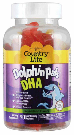Country Life Dolphin Pals DHA for Kids