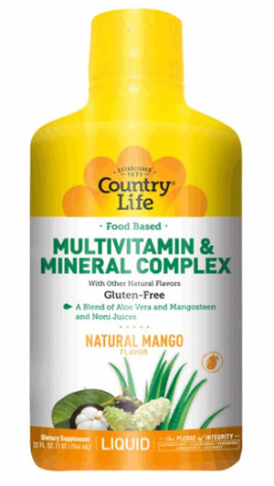 Country Life Food Based Liquid Multivitamin And Mineral Complex