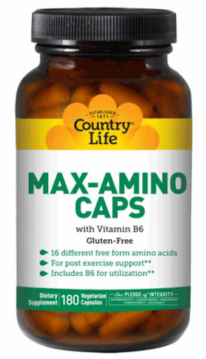 Country Life Max Amino Caps