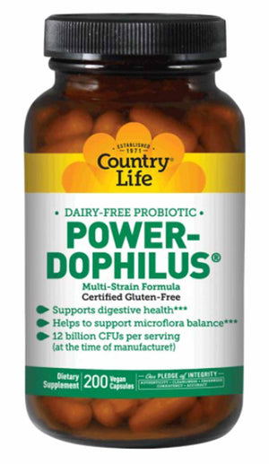 Country Life Power-Dophilus Dairy Free Probiotic