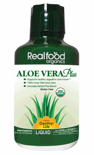 Country Life Realfood Organics® Aloe Vera Plus