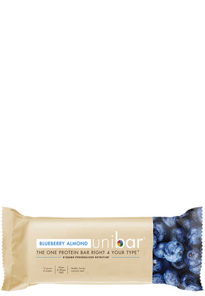 D'Adamo Personalized Nutrition Uni Bar Blueberry Almond