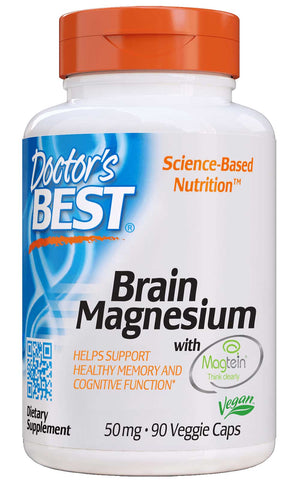 Doctor's Best Brain Magnesium with Magtein