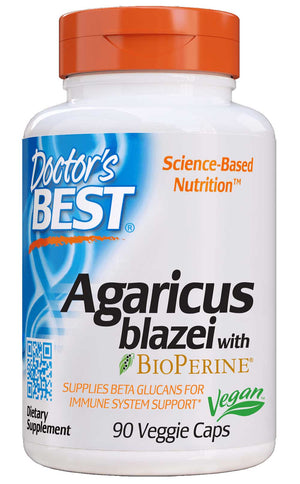 Doctor's Best Agaricus Blazei 400mg
