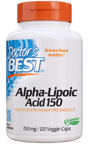 Doctor's Best Alpha Lipoic Acid 150mg