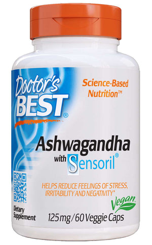 Doctor's Best Ashwagandha with Sensoril 125mg