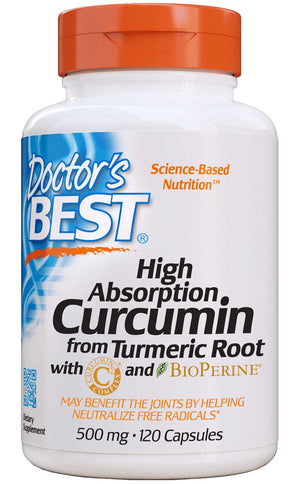 Doctor's Best Curcumin C3 Complex with BioPerine 500mg
