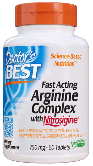 Doctor's Best Fast Acting Arginine Complex with Nitrosigine