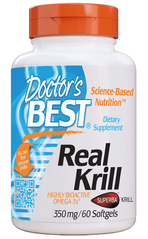Doctor's Best Real Krill 350 mg
