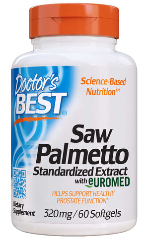 Doctor's Best Saw Palmetto Extract 320mg