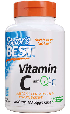 Doctor's Best Vitamin C with Quali-C 500mg