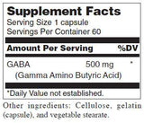 Douglas Laboratories GABA Ingredients
