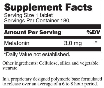 Douglas Laboratories Melatonin Tablets - Prolonged Release