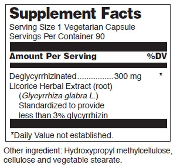 Douglas Laboratories Licorice Root-V (Deglycyrrhizinated)