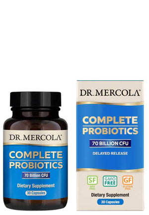 Dr. Mercola Complete Probiotics 70 Billion CFU