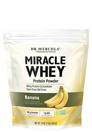 Dr. Mercola Miracle Whey Banana
