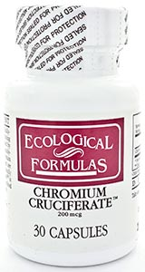 Ecological Formulas/Cardiovascular Research Chromium Cruciferate 200mcg