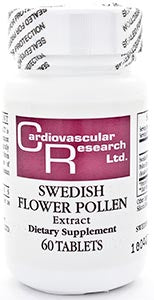 Ecological Formulas/Cardiovascular Research Swedish Flower Pollen 63mg