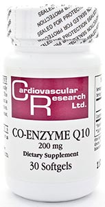 Ecological Formulas/Cardiovascular Research CoQ10 200mg