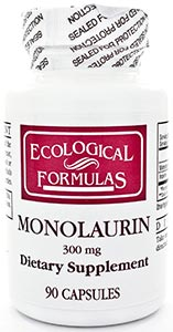 Ecological Formulas/Cardiovascular Research Monolaurin 300mg